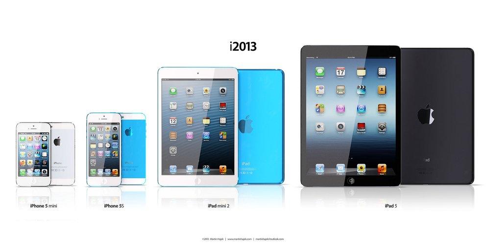 Apples Produkt-Lineup für 2013?