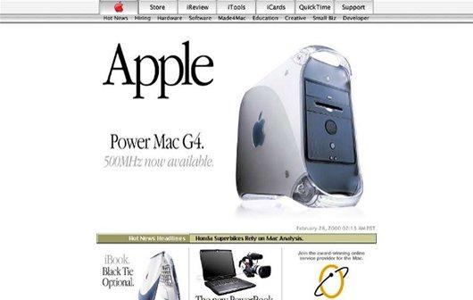 15 Jahre Apple.com [Slideshow]