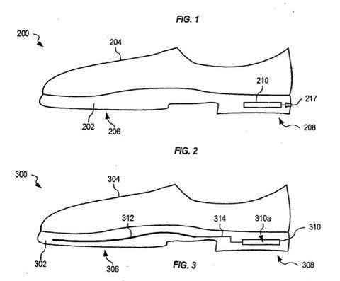 Apple Smart Shoe Patentantrag