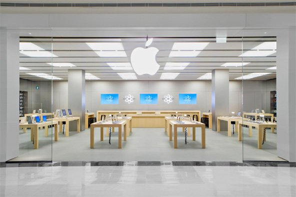 Ein typischer Apple Retail Store - Foto: Apple