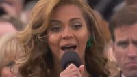 War on Terror? I'm in! Beyoncé singt die US-Nationalhymne - im Playback (Update) (Video)