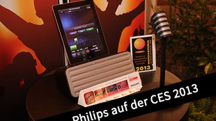 CES 2013: Philips Lightning-Docks, iPad-Karaoke und Soundbar