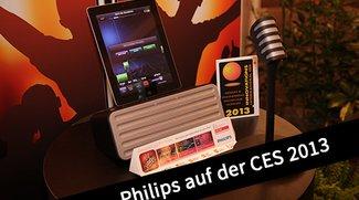 CES 2013: Philips Lightning-Docks, iPad-Karaoke und Soundbar