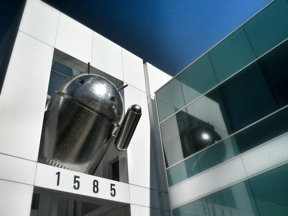Neuer Chrome Andy auf dem Google Campus - Was könnte das bedeuten?