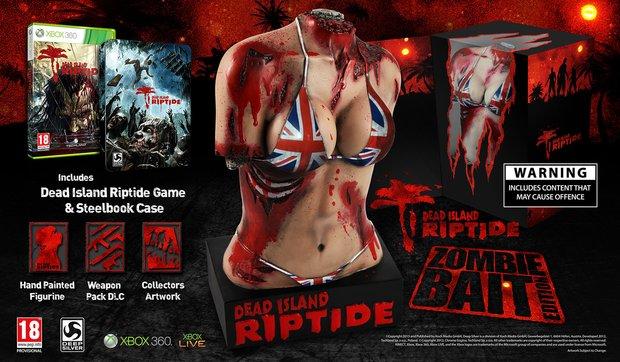 """Dead Island Riptide: Collector's Edition """"Zombie Bait"""" kommt mit Bikini-Torso Statue"""