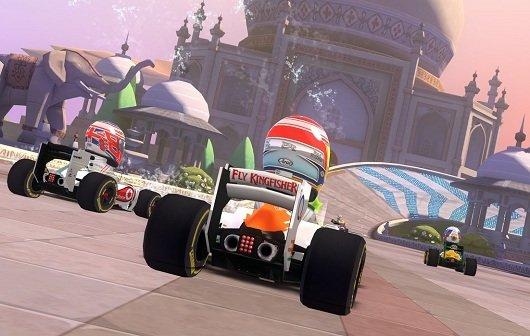 F1 Race-Stars: DLC bringt neue Strecken