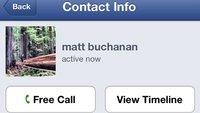 Telefonieren mit Facebook: VoIP-Dienst für iPhone-Nutzer in den USA gestartet