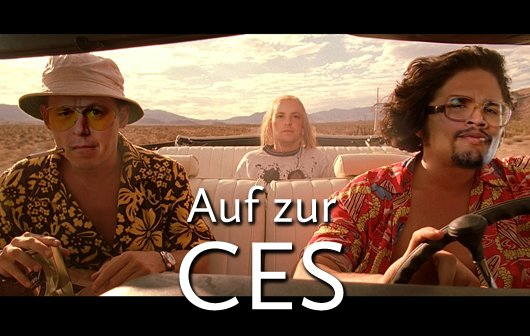 CES 2013, wir kommen!