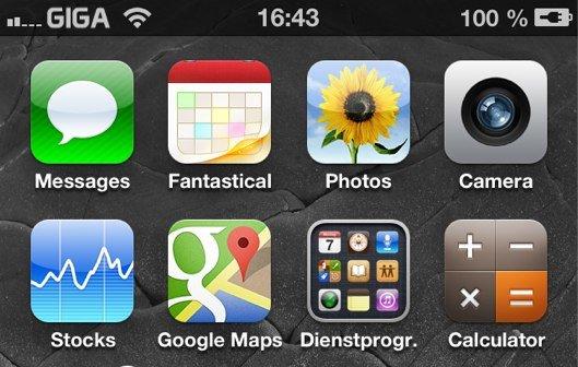 iPhone Betreiberlogo ändern - Netzbetreiber-Logo