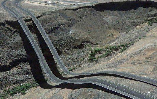 Coole Google-Earth-Fehler, die aus Inception kommen könnten