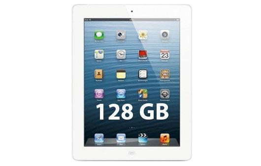 iPad mit 128 GB angekündigt