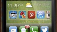 iOS 7 Konzeptstudie: Widget- und App-Bereich
