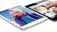 iPad mini: Bestellungen bei Hersteller gehen zurück