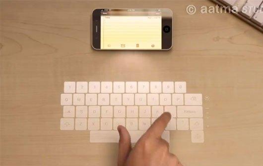 Apple Patente: iMac mit Laser-Keyboard und iOS-Nutzer als Bankomaten