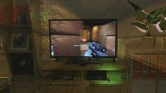 Microsoft IllumiRoom: Sieht so die Zukunft von Kinect aus?
