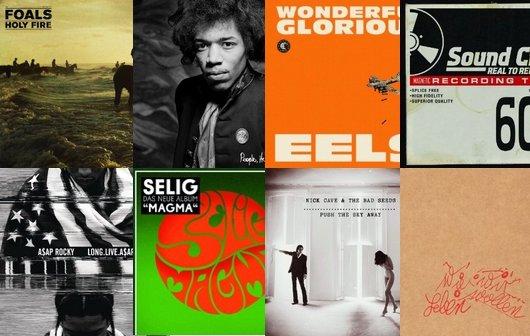 Neue Alben 2013: Die Musik-Vorschau im Überblick