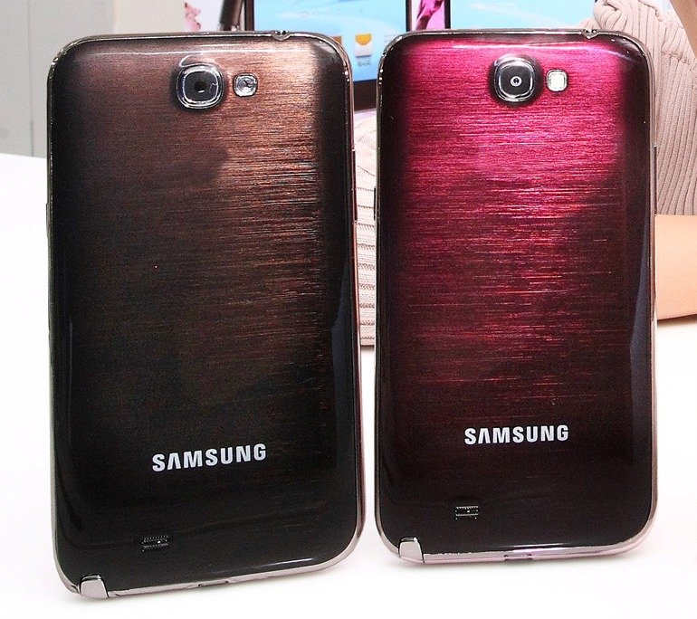 Galaxy Note 2 neue Farben