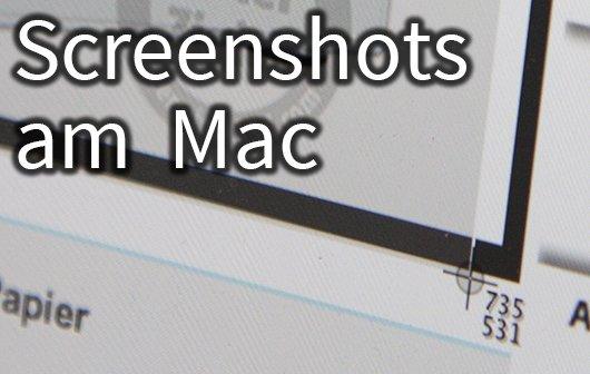 Einsteigertutorial: Screenshot am Mac machen - so geht's
