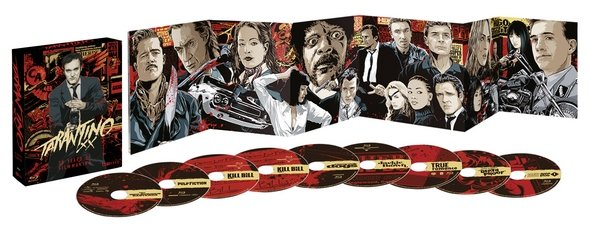 Tarantino Blu-ray-Box