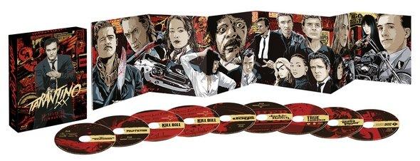 Tarantino Blu-ray-Box