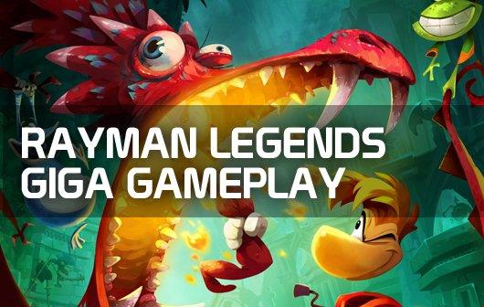 Rayman Legends - GIGA Gameplay