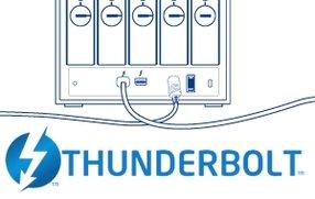 Thunderbolt: Belkin Express Dock und LaCie 5big