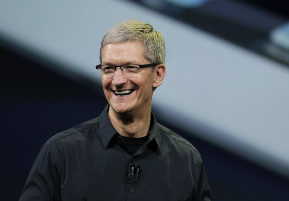 Tim Cook: Goldman-Sachs-Interview und im Publikum von Obama-Rede
