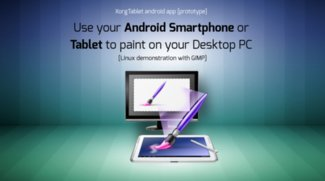 Android: Tablet als Grafiktablet nutzen (Linux)