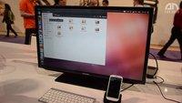 Ubuntu auf dem Samsung Galaxy S3 - Hands-On - CES 2013