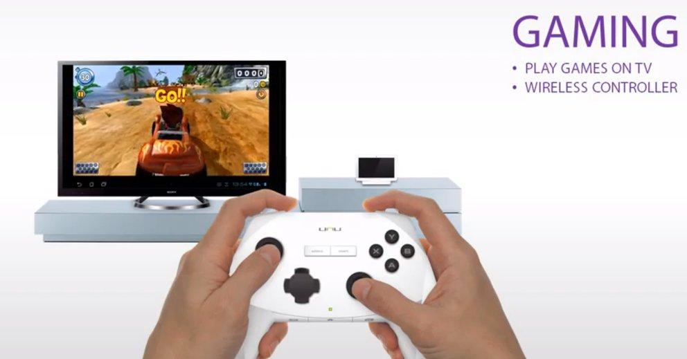 Unu – Tablet, Smart-TV und Spielekonsole