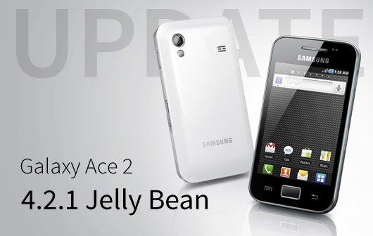 Samsung Galaxy Ace 2 Jelly Bean Update - Erste Test Firmware verfügbar