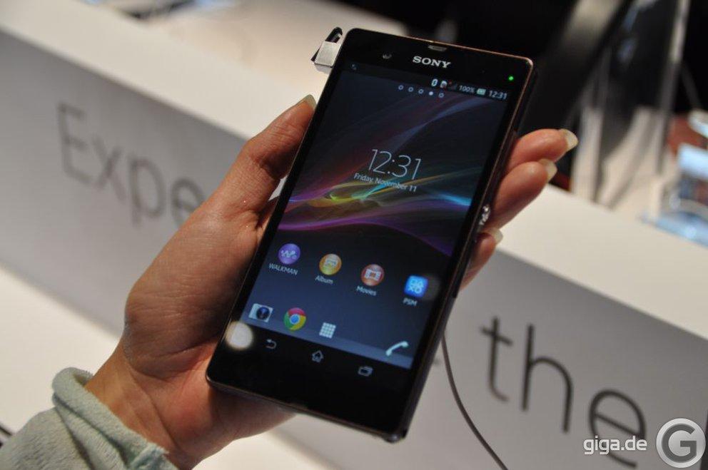 Sony Xperia Z - Rund 1000 Bilder dank Burst Mode in 68 Sekunden