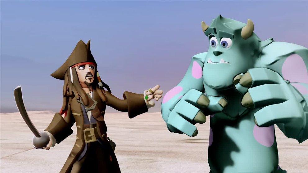 """Disney Infinity: Trailer zeigt das """"Fluch der Karibik""""-Playset"""