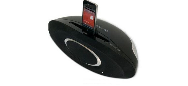 "Eltax 2.1 Dockingstation ""Boomerang"" für iPod / iPhone für 57,90 Euro"