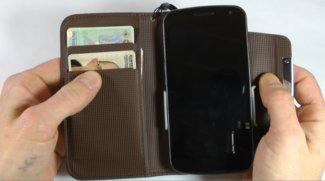 Portemonnaie-Case für das Galaxy Nexus (Gadget Review)