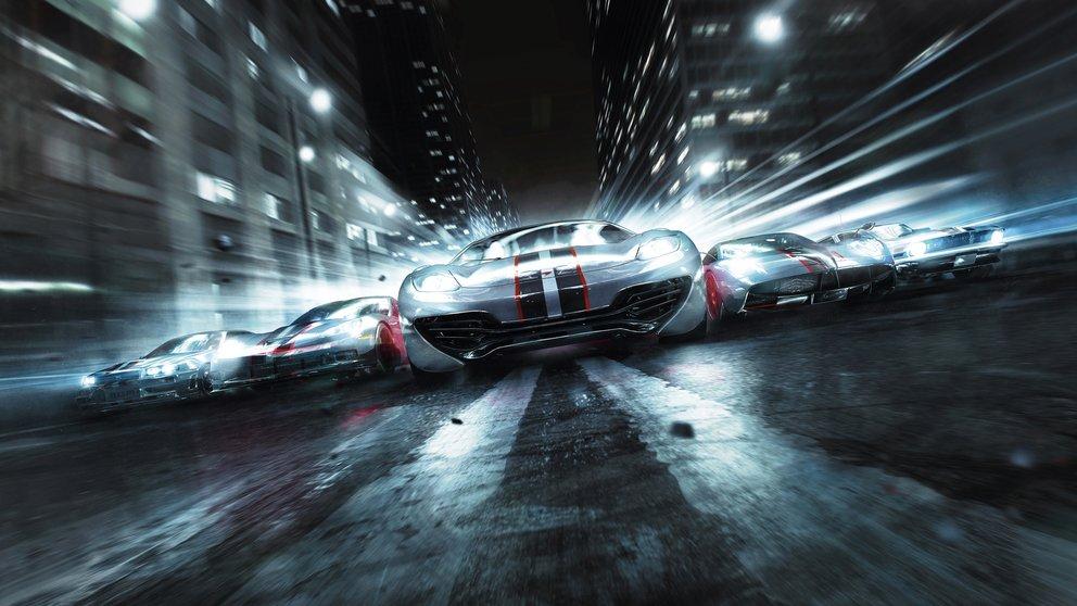 GRID 2: Trailer zeigt BMW Autos im Nachtrennen