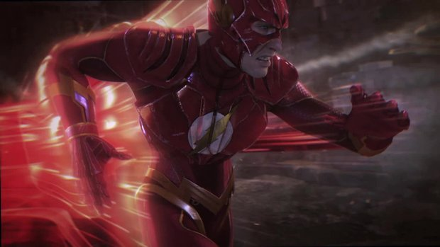 Injustice - Gods Among Us: Joker vs. Flash im Gameplay-Trailer