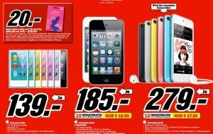 MediaMarkt Angebote im Check: iTunes-Karten, iPod touch & Bose Soundlink