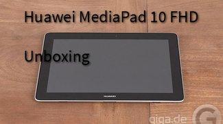 Huawei MediaPad 10 FHD Unboxing