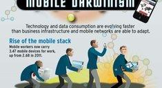 Der mobile Darwinismus (Infografik)