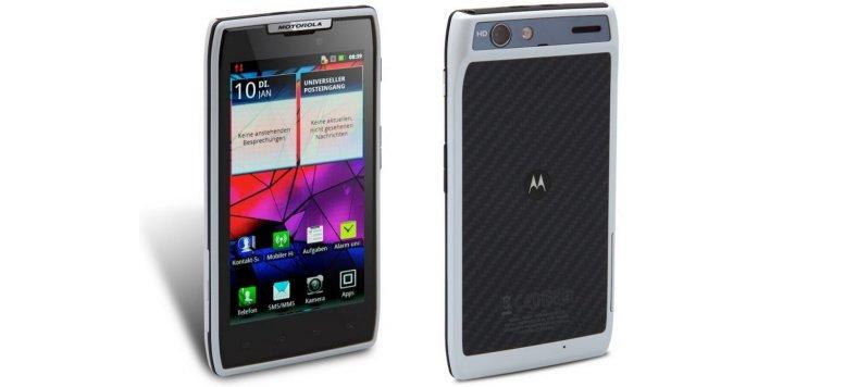 Motorola RAZR white für 269,00 statt 294,90 Euro bei Getgoods