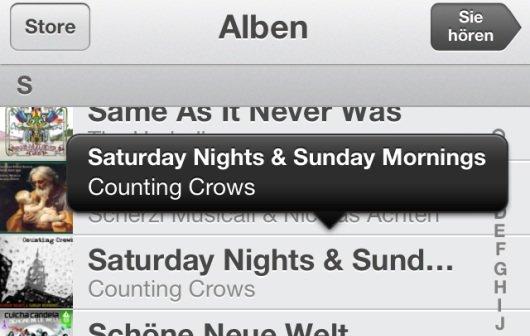 iOS 6: Tipps für die Musik-App von iPhone, iPod touch und iPad