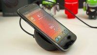 Nexus 4: Kabelloses Ladegerät im Unboxing und Hands-On