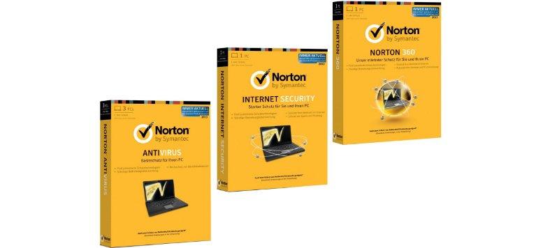 Norton Software Produkte mit 20 % Rabatt