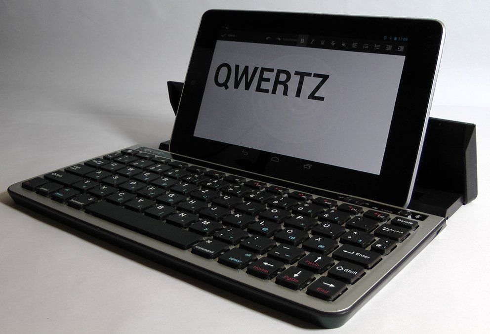 QWERTZ-Layout-Android-Bluetooth-Tastatur