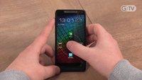 """Erster Eindruck """"unflüssig"""": Motorola RAZR i - Jelly Bean Update"""