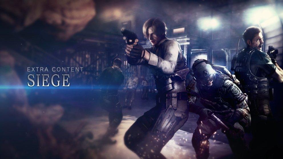 Resident Evil 6: Siege Modus und DLC Bundles kommen nächste Woche