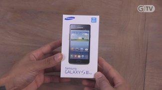 Samsung Galaxy S2 Plus: Unboxing und kurzes Hands-On