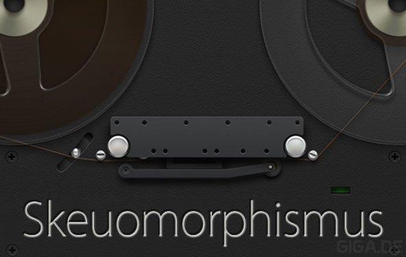 Skeuomorphismus