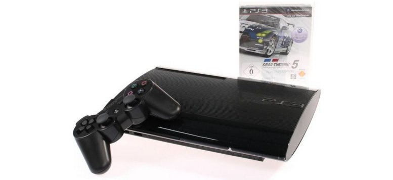 Sony PlayStation 3 Ultra Slim 500 GB mit Gran Turismo 5 für 259,00 Euro